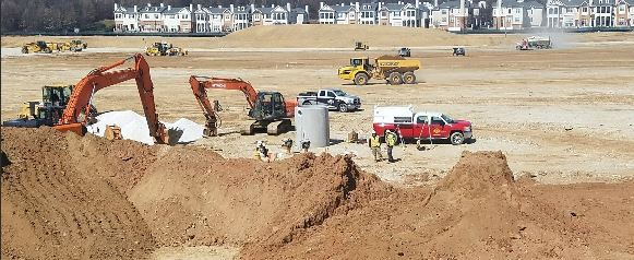 Photo of a CJ Miller job site