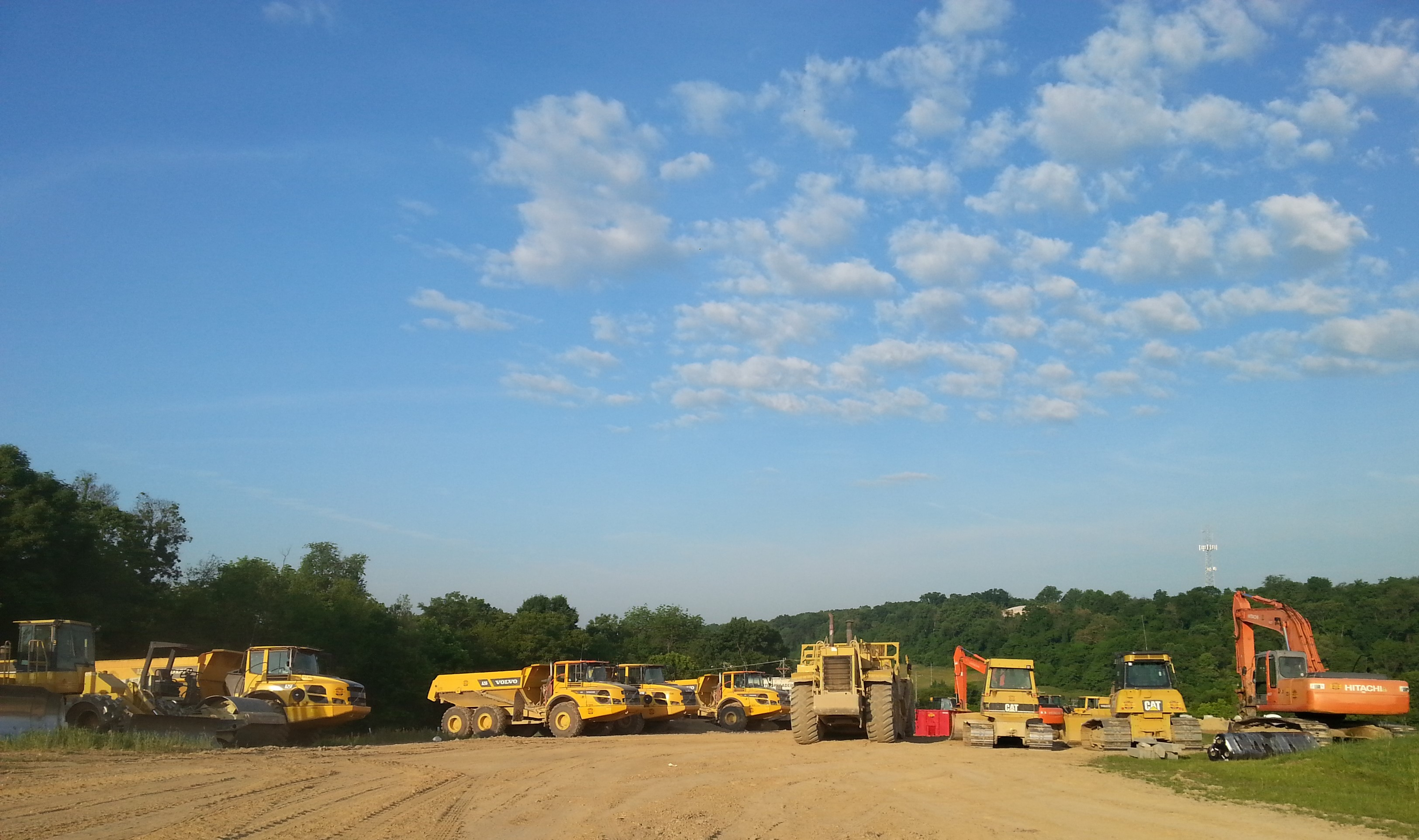 Photo of equipment at Tallyn Ridge