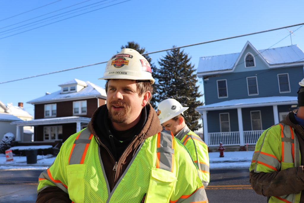 Photos from the Hampstead Streetscape Project in Carroll County, Maryland.